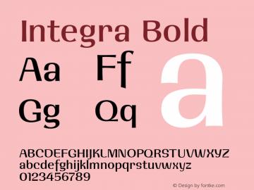 Integra Bold 001.001图片样张