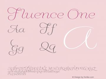 Fluence One Version 1.0图片样张