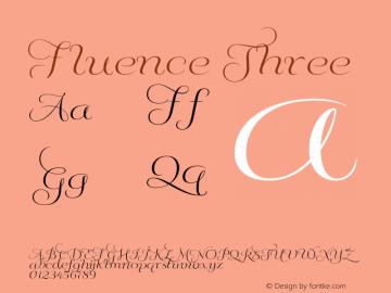 Fluence Three Version 1.0图片样张
