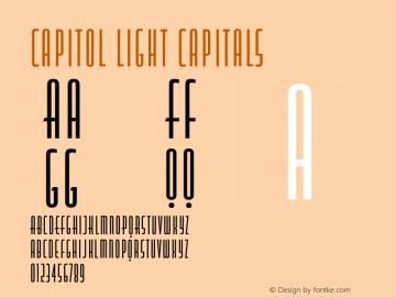Capitol Light Capitals Version 1.000图片样张