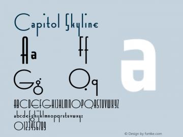 Capitol Skyline Version 1.000图片样张