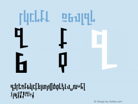 Schirft Regular 001.000 Font Sample