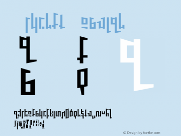 Schirft Regular 001.000 Font Sample