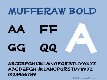 Mufferaw Bold Version 2.200;PS 002.200;hotconv 1.0.38 Font Sample