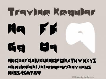 Travine Regular Version 1.00 December 3, 2012, initial release图片样张