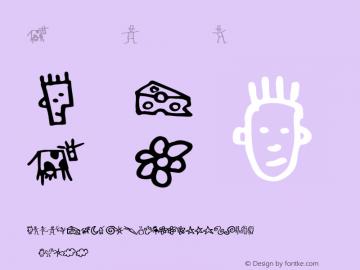 GoodDog Bones Version 001.000 Font Sample