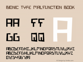 Bionic Type Malfunction Book Version 1图片样张