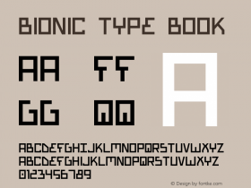 Bionic Type Book Version 1图片样张