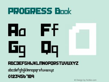 PROGRESS Book Version 1.00 December 9, 201图片样张