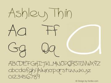 Ashley Thin Version Altsys Metamorphosis图片样张