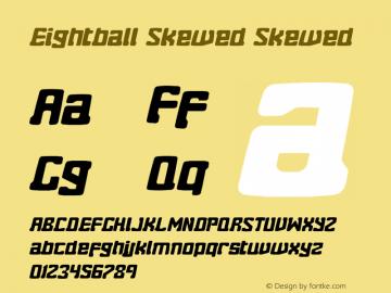 Eightball Skewed Skewed Version 1.00 2012图片样张