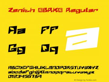 Zenith (BRK) Regular 1.03图片样张