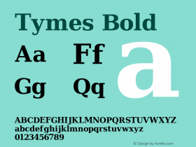 Tymes Bold Version Release 2.02图片样张