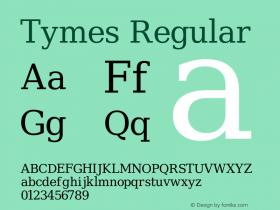 Tymes Regular Version Release 2.02图片样张