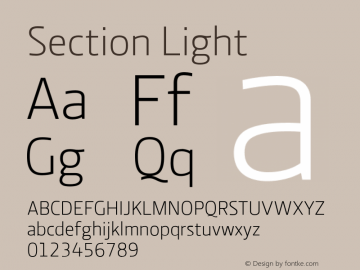 Section Light 2.000图片样张