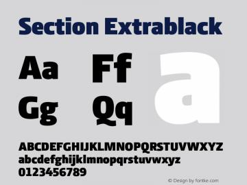 Section Extrablack 2.000图片样张