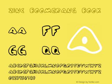 Zinc Boomerang Book Version Frog: 3.9.99 1.0图片样张