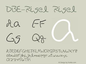 DBE-Rigel Rigel Version 1.000图片样张