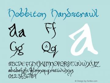 Hobbiton Handscrawl Version 001.000图片样张