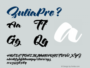 ZuliaPro ? Version 1.000;com.myfonts.sudtipos.zulia-pro.regular.wfkit2.4331 Font Sample