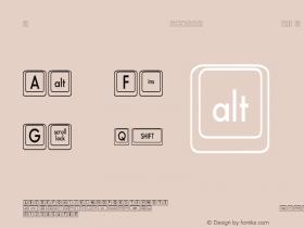 Compkey2 Condensed Regular Unknown Font Sample