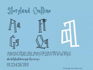 Storyland Outline Version 1.000;PS 001.000;hotconv 1.0.70;makeotf.lib2.5.58329 Font Sample
