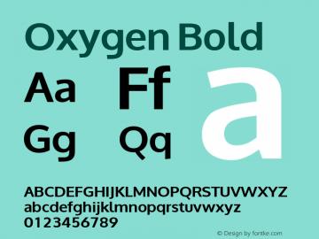 Oxygen Bold Version 0.2; ttfautohint (v0.94.20-1c74-dirty) -l 8 -r 50 -G 200 -x 0 -w