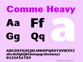 Comme Heavy Version 2图片样张