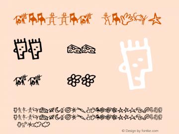 GoodDog Bones Version 1.000 Font Sample