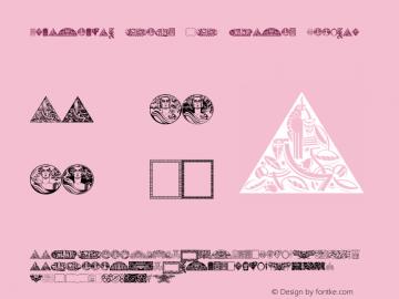 Ornamental Deco 2D Cameo Regular Version 1.000 2010图片样张