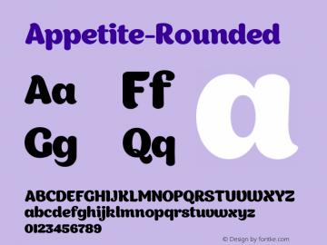 Appetite-Rounded ☞ 1.000;com.myfonts.easy.deniserebryakov.appetite-rounded.regular.wfkit2.version.4b9n图片样张