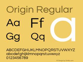 Origin Regular Version 1.00 2014图片样张