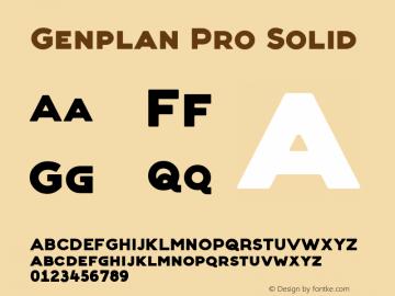 Genplan Pro Solid Version 1.009 | wf-rip*图片样张