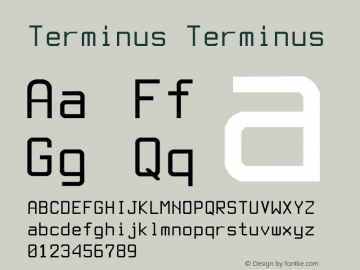 Terminus Font,Terminus cyr Font|Terminus cyr Version 1 01