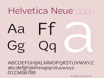 Helvetica Neue 超细斜体 10.0d35e1图片样张