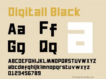 Digitall Black 1.000图片样张