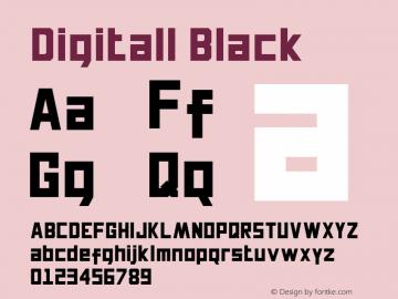 Digitall Black Version 1.000图片样张