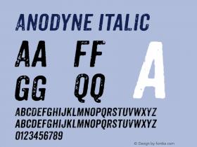 Anodyne Italic Version 1.001图片样张