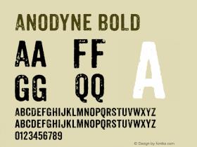 Anodyne Bold Version 1.000;com.myfonts.easy.yellow-design.anodyne.regular.wfkit2.version.3Fhi图片样张
