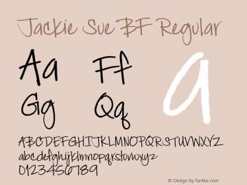 Jackie Sue BF Regular Version 1.001图片样张