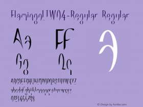 FlamingoLTW04-Regular Regular Version 1.00图片样张