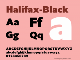 Halifax-Black ☞ Version 1.000;com.myfonts.easy.hoftype.halifax.black.wfkit2.version.4pvo Font Sample