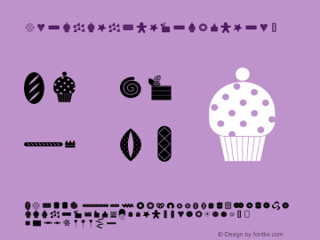 BreadandConfectionery ☞ Version 1.000;com.myfonts.easy.baobaby.bread-and-confectionery.regular.wfkit2.version.4hCu图片样张