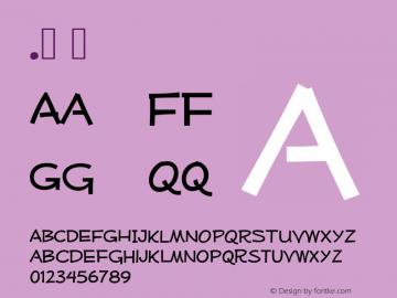 .  OTF 3.100;PS 001.001;Core 1.0.29 Font Sample