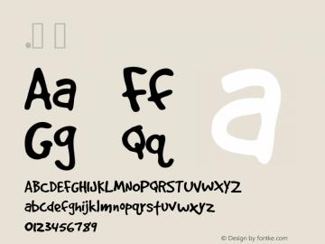 .  Version 1.001 Polish Added Font Sample