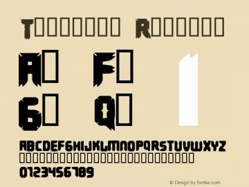 Terminus Font|Terminus Macromedia Fontographer 4 1 4/26/00