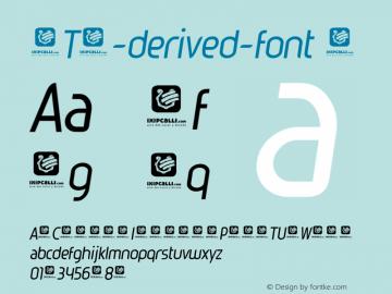 OTS-derived-font Font Family|OTS-derived-font-Uncategorized Typeface