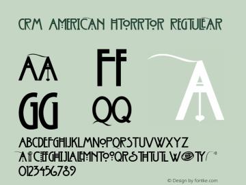 CRM American Horror Regular Version 1.00图片样张