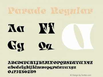 Parade Regular Print Artist: Sierra On-Line, Inc.图片样张