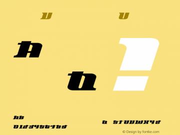 Oliver Regular 1 Font Sample